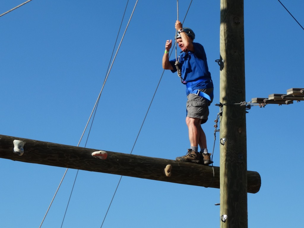 Rope course