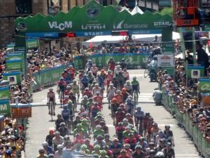 Tour Of Utah Bike race.