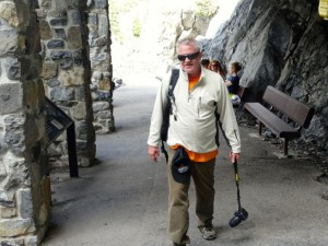 Timpanogos cave - Hal at the top