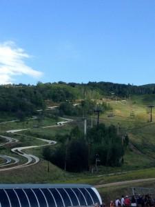Alpine slide at PCMR.