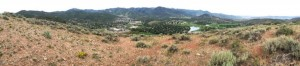 Panorama from the top of PC hill.