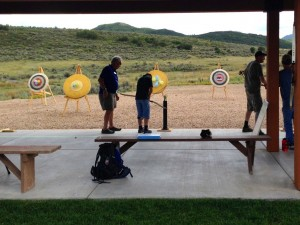 National Ability Centre archery range.