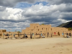 "Taos Pueblo. Certainly not high on anyones desirable properties list and no entries in ""Home & Garden""."