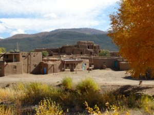More Taos Pueblo - North side. Is this where the wealthy live?