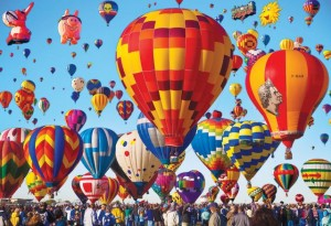 The essence of Albuquerque, the iconic Balloon Fiesta. Sadly we missed it by a week.