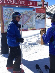 Victor does his Mountain Host stint, being helpful and nice to guests.