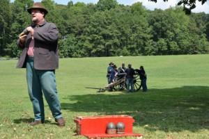 Cannon drill.