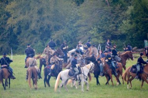 Battle of Tunnel Hill - cavalry skirmish.