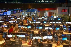 CNN newsroom.