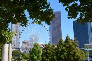 Atlanta Olympic park.
