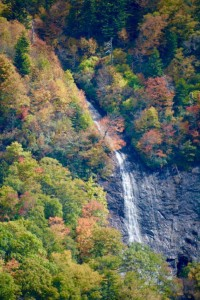 Another Blue Ridge Parkway waterfall.