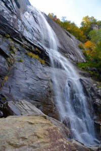 Hickory Nut waterfall.