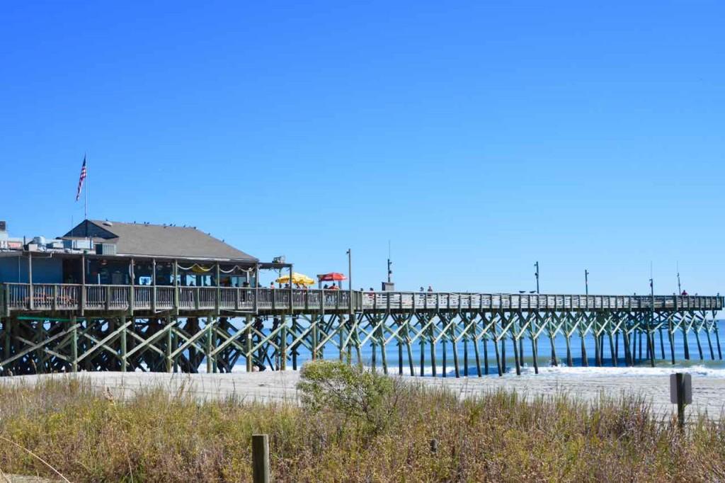 Myrtle Beach pier.