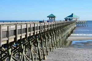 Folly beach fishing pier.