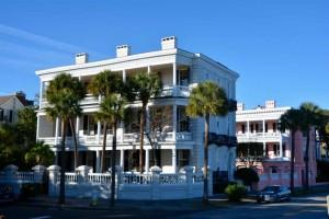 Elegant styled Charleston home.