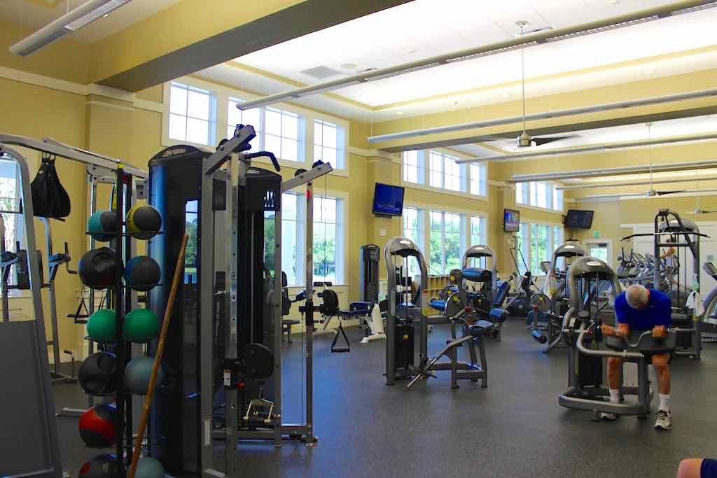Great Gym at the Lakehouse club.