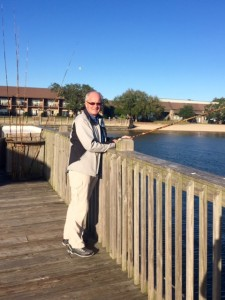 Fishing at Marriott Grnd hotel Fairhope .