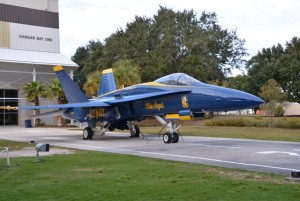 Pensacola Naval Aviation Museum, Blue Angel.