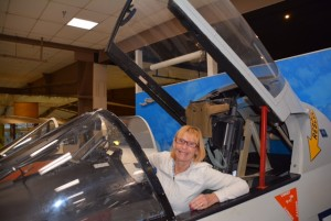 Pensacola Naval Aviation Museum. Perhaps Wendy overcomes her fear of aircraft after all