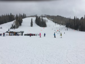 Deer Valley and fresh powder.