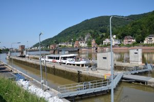Heidelberg river Eck