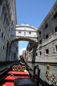 Bridge of Sighs from the gondola.