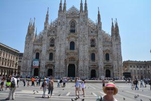 Milan - awesome Duomo.