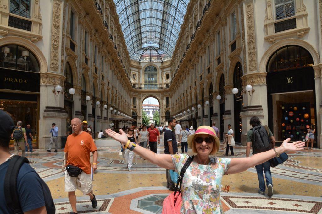 Milan - shopping extravaganza.