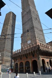 Bologna also has a leaning tower.