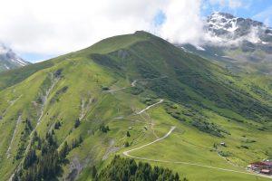 Serfaus ski runs.