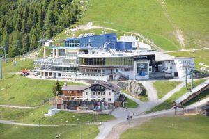 Serfaus lift station and Kolner Haus.