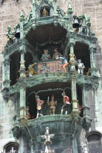 Rathaus clock.