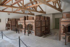 Dachau ovens.