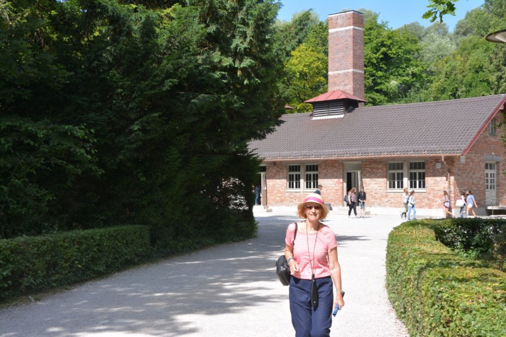 Wendy at Dachau