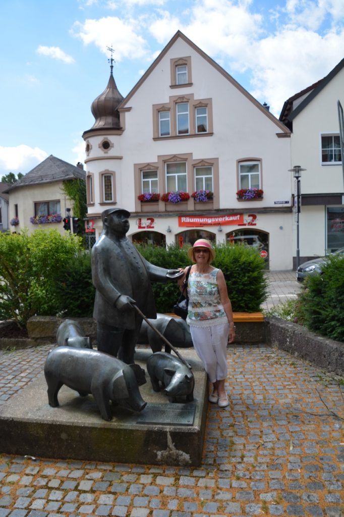 Wendy at Pegnitz.