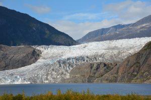 Mendenhall glacier.