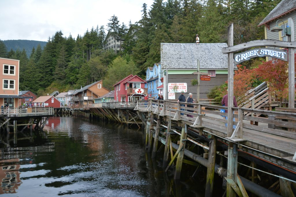 Ketchikan red light district. Wot no propositions.