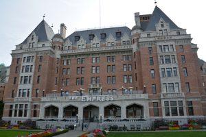 Empress hotel Victoria.