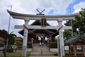 Temple in Honolulu.