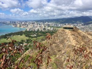 View from Diamond Head.