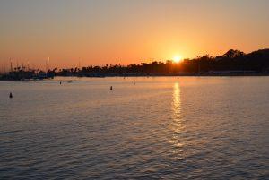Santa Barbara sunset.